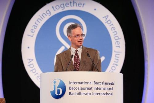 JB speaking at Toronto IB Conference